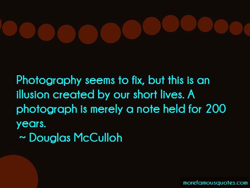 Douglas McCulloh Quotes