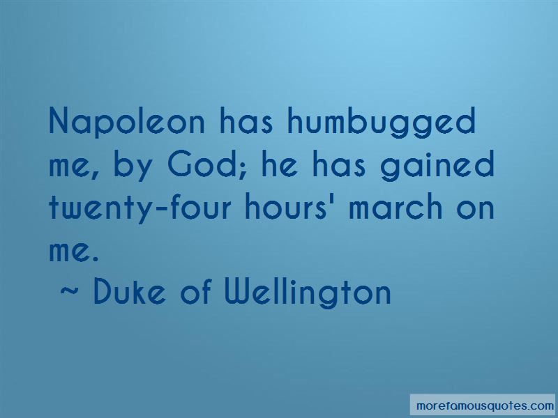 Duke Of Wellington Quotes Pictures 2