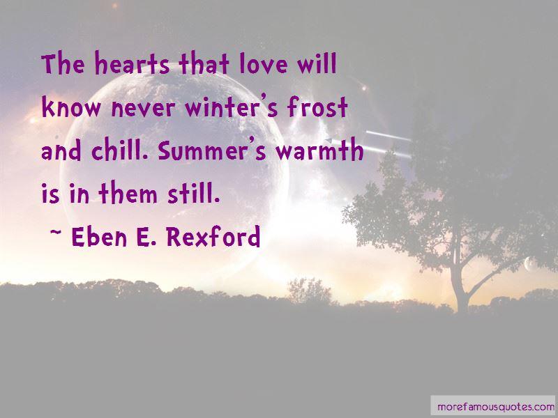 Eben E. Rexford Quotes