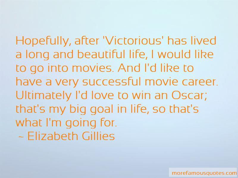 Elizabeth Gillies Quotes Pictures 2