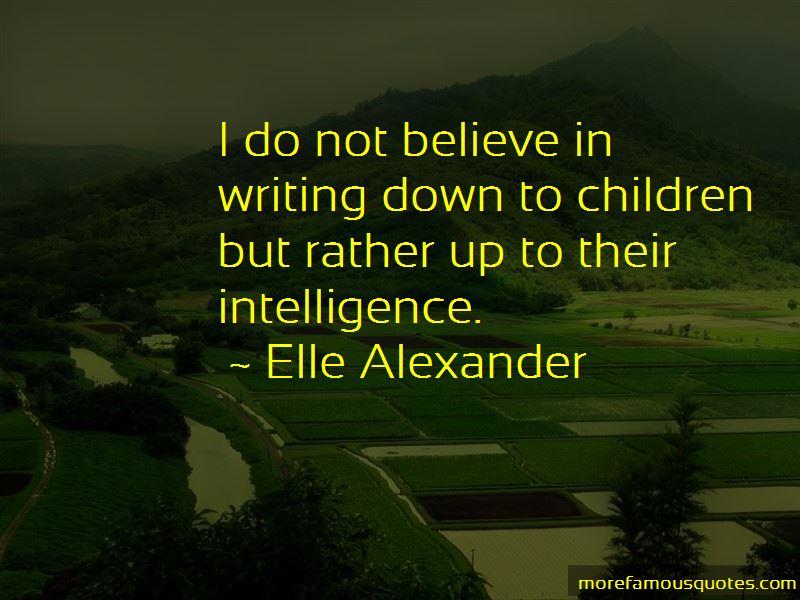 Elle Alexander Quotes Pictures 2