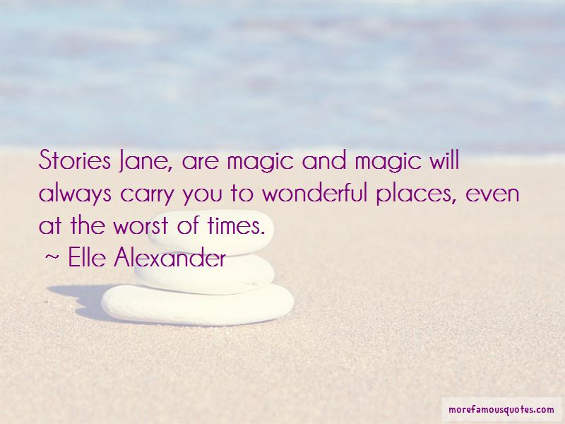 Elle Alexander Quotes Pictures 3