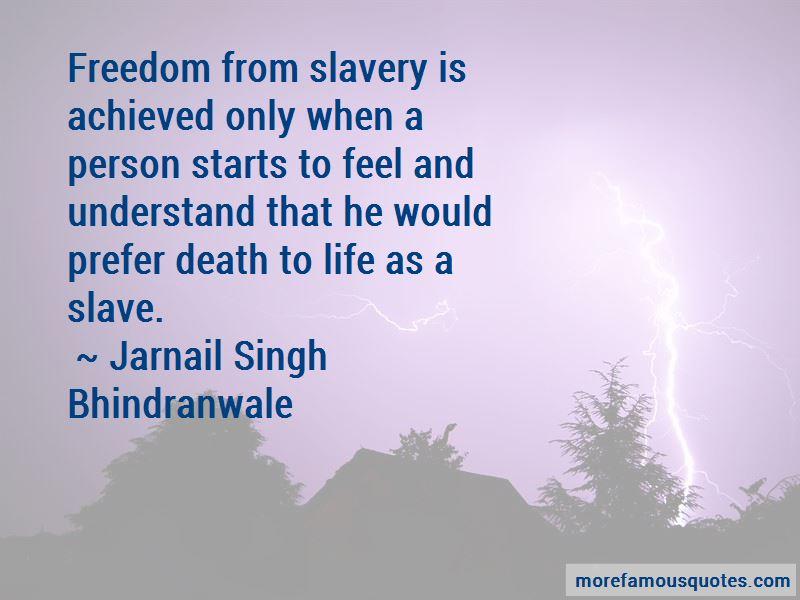 Jarnail Singh Bhindranwale Quotes