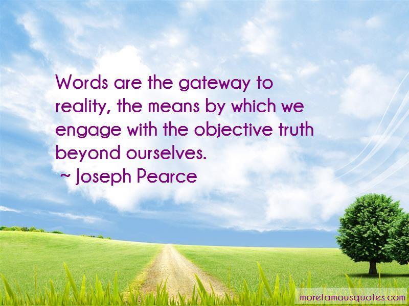 Joseph Pearce Quotes Pictures 3