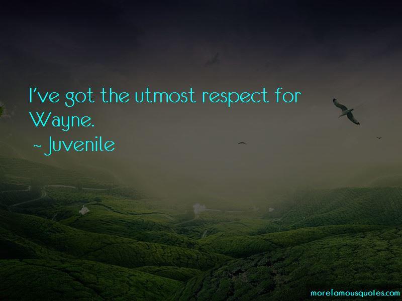 Juvenile Quotes