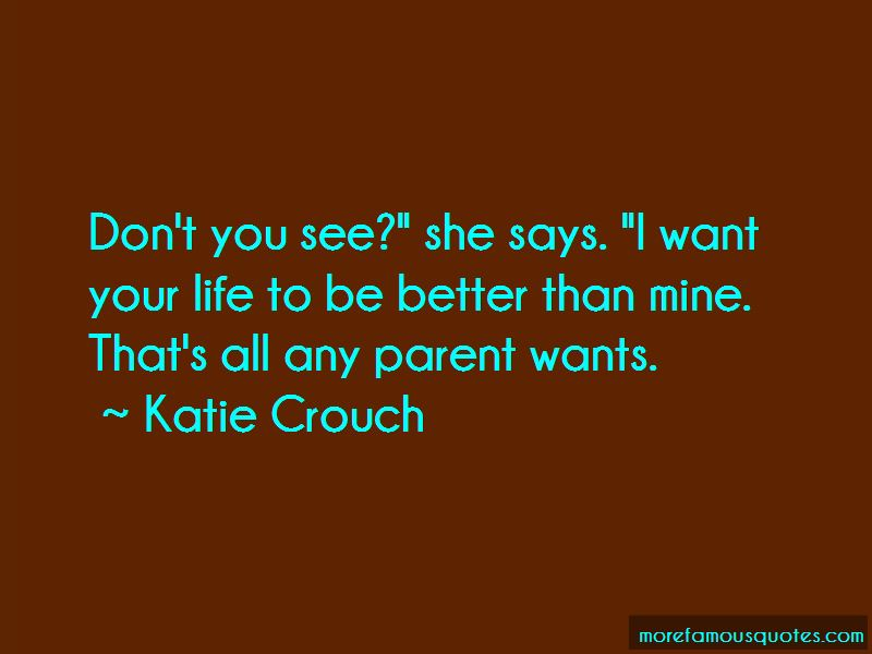 Katie Crouch Quotes
