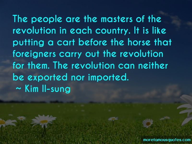 Kim Il-sung Quotes Pictures 3