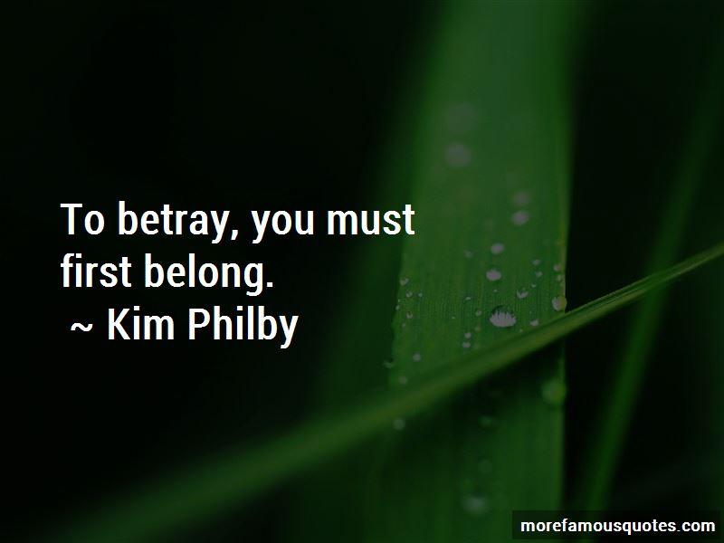 Kim Philby Quotes
