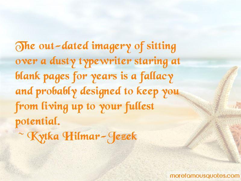 Kytka Hilmar-Jezek Quotes Pictures 2