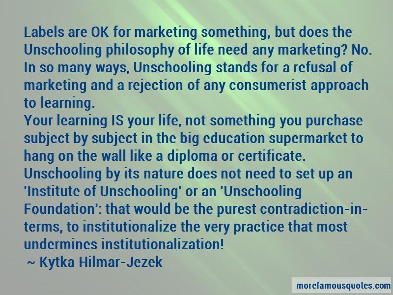 Kytka Hilmar-Jezek Quotes