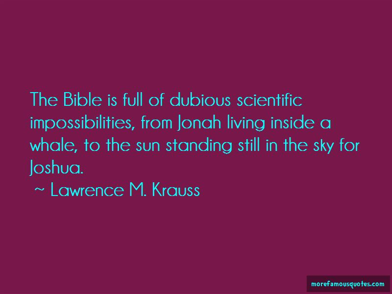 Lawrence M. Krauss Quotes Pictures 2