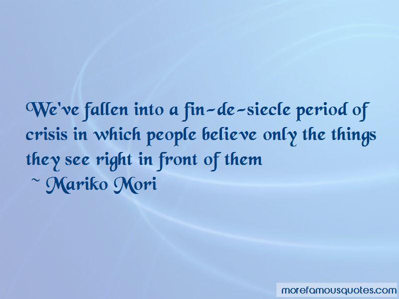 Mariko Mori Quotes