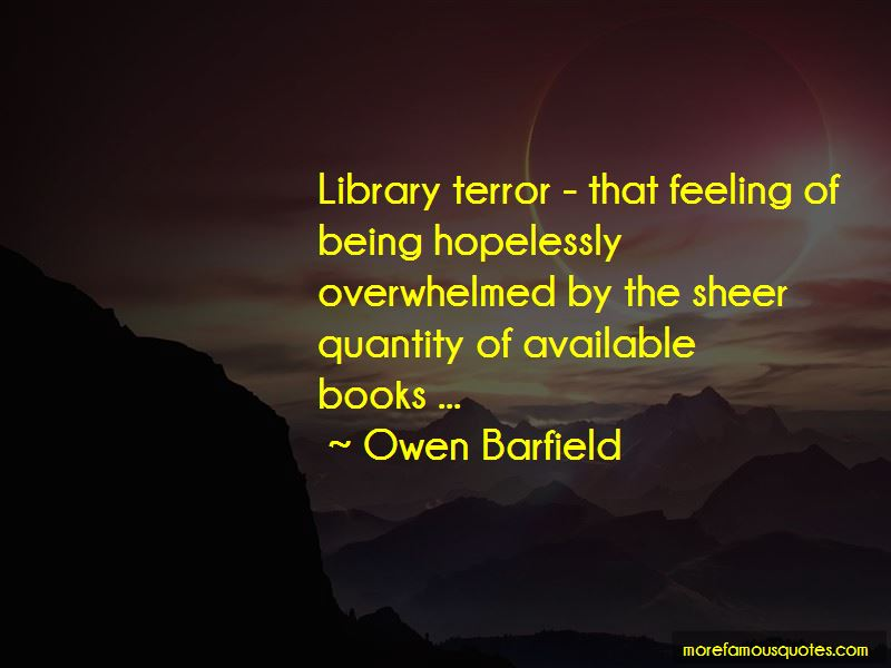 Owen Barfield Quotes Pictures 3