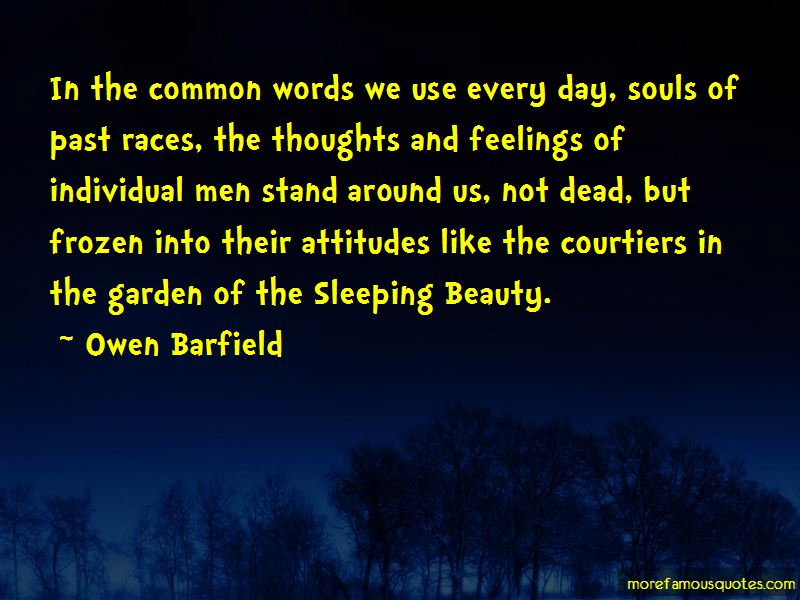 Owen Barfield Quotes Pictures 4