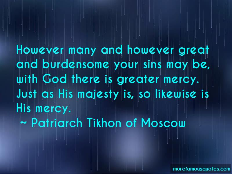 Patriarch Tikhon Of Moscow Quotes Pictures 2