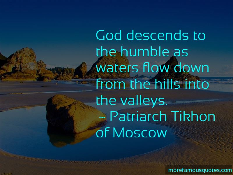 Patriarch Tikhon Of Moscow Quotes
