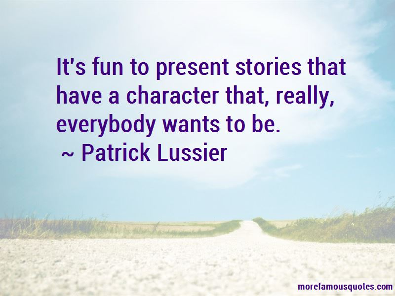 Patrick Lussier Quotes Pictures 2