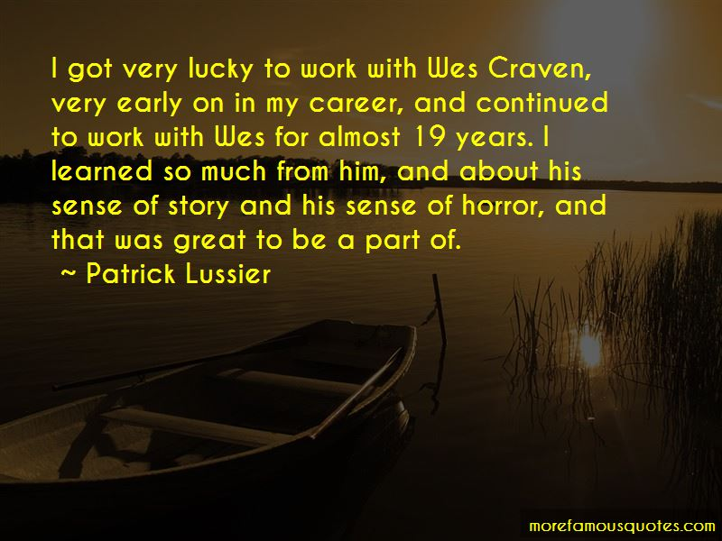 Patrick Lussier Quotes Pictures 3