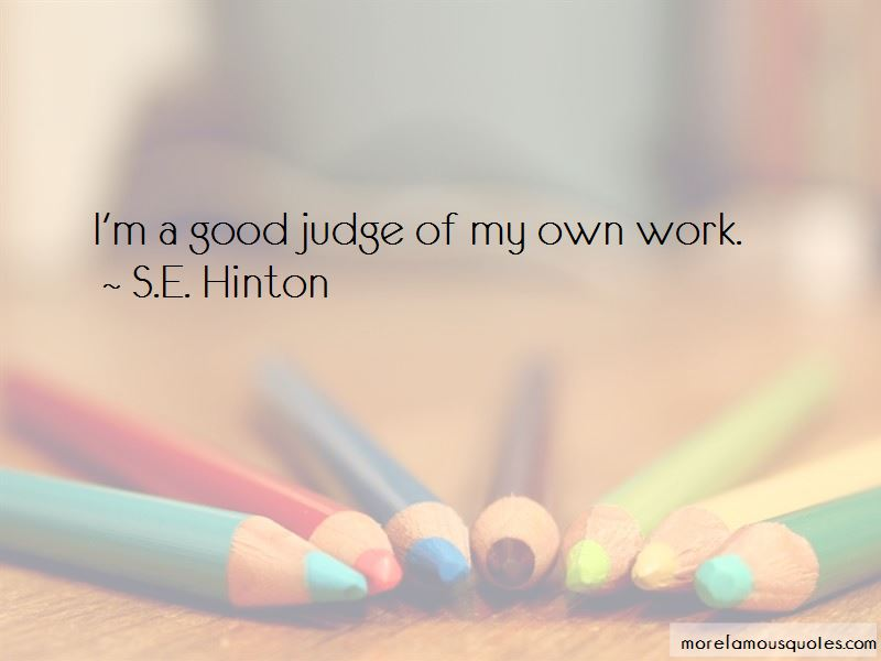 S.E. Hinton Quotes Pictures 2