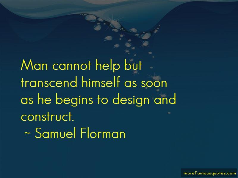 Samuel Florman Quotes
