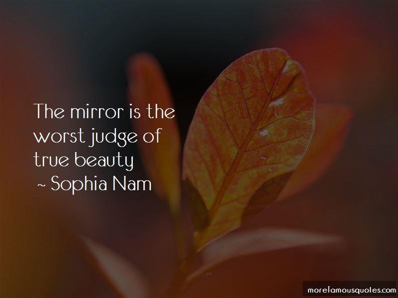 Sophia Nam Quotes