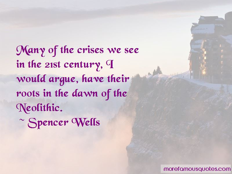 Spencer Wells Quotes Pictures 2