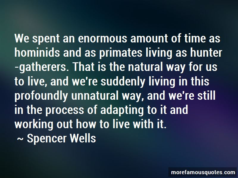 Spencer Wells Quotes