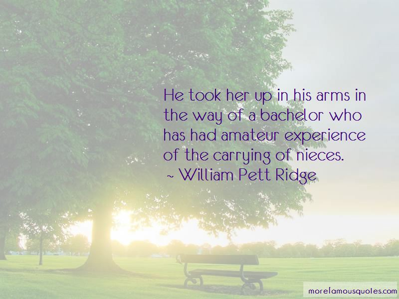 William Pett Ridge Quotes Pictures 2