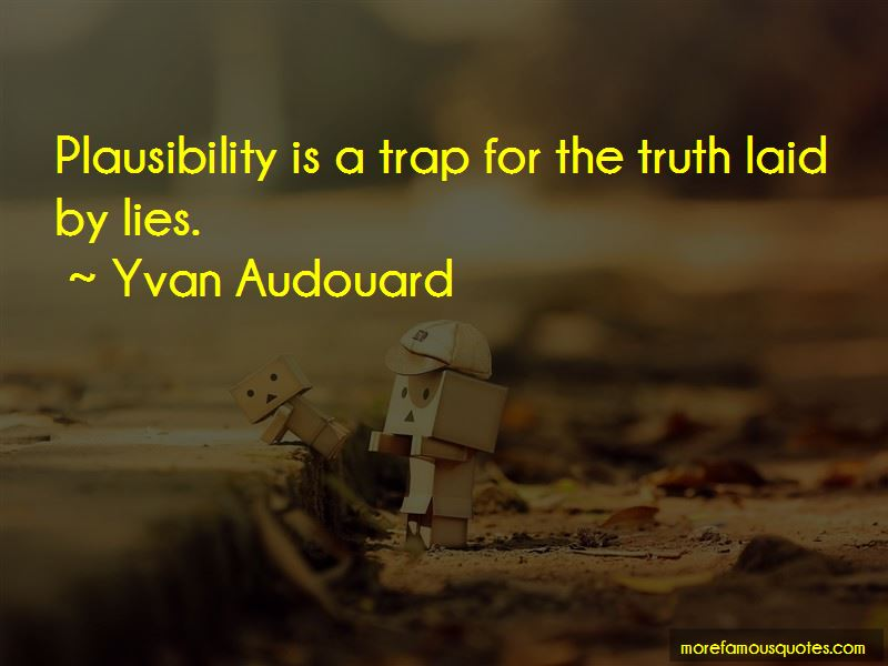 Yvan Audouard Quotes