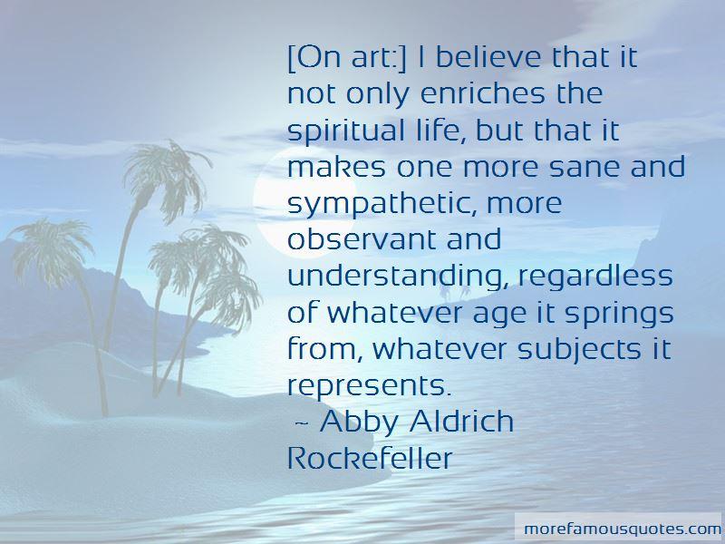 Abby Aldrich Rockefeller Quotes