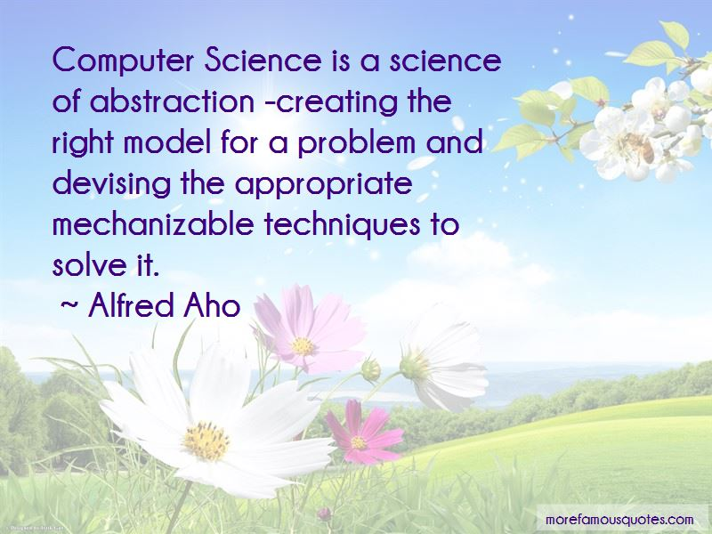 Alfred Aho Quotes