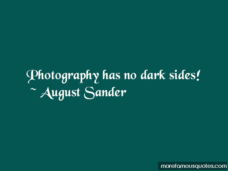 August Sander Quotes Pictures 4