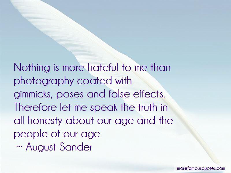 August Sander Quotes