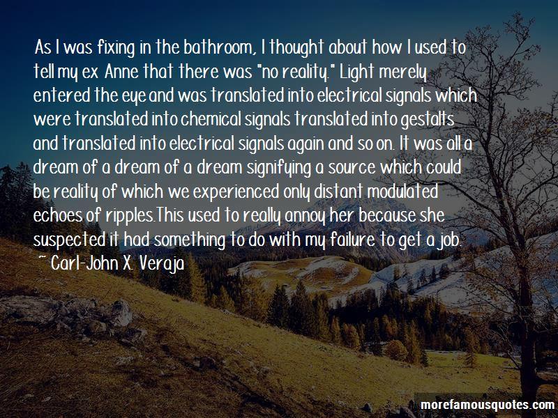 Carl-John X. Veraja Quotes