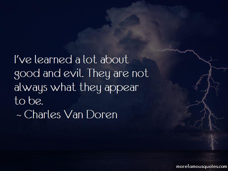 Charles Van Doren Quotes Pictures 2
