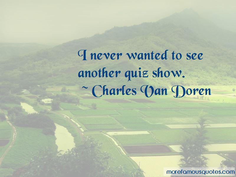 Charles Van Doren Quotes Pictures 4
