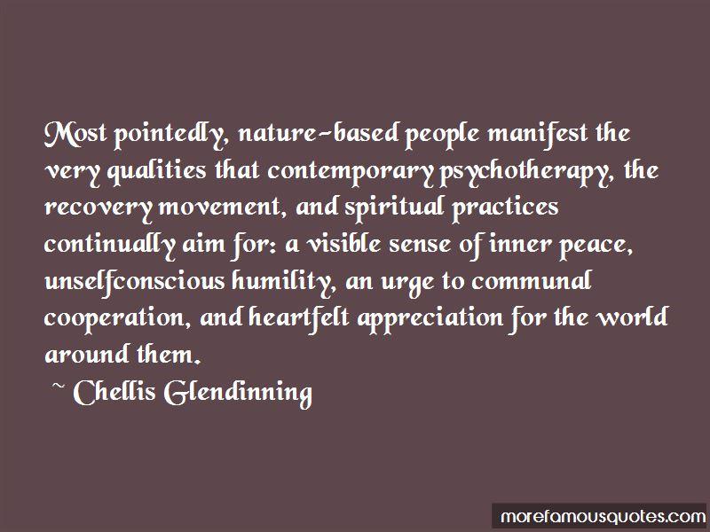 Chellis Glendinning Quotes