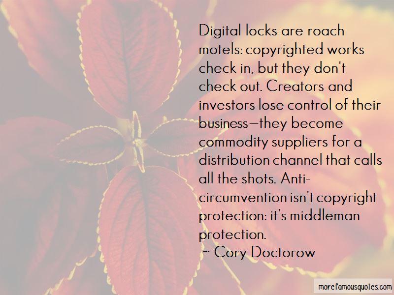 Cory Doctorow Quotes