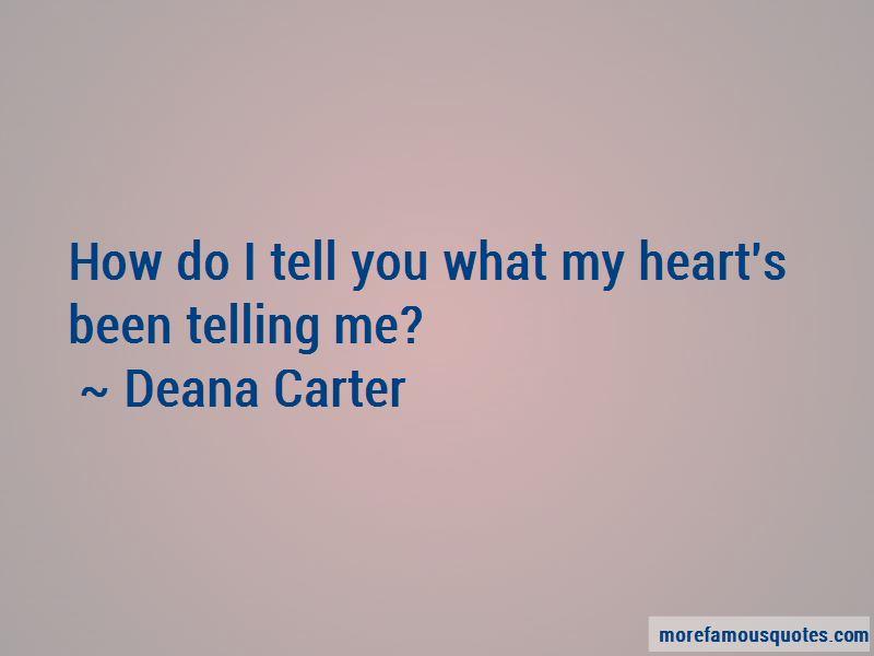 Deana Carter Quotes