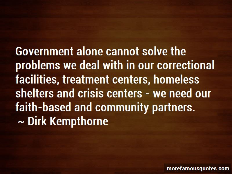 Dirk Kempthorne Quotes Pictures 2