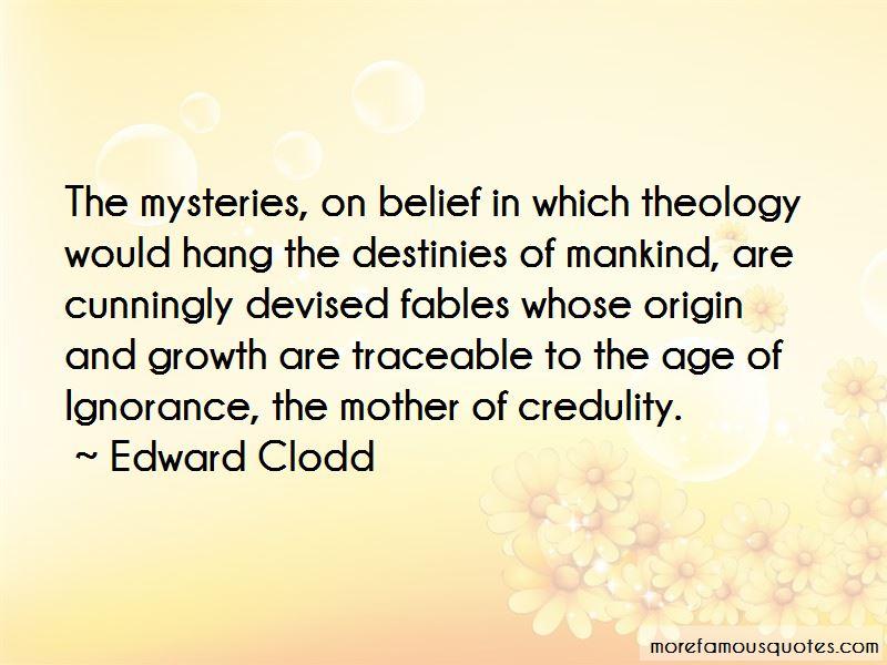 Edward Clodd Quotes