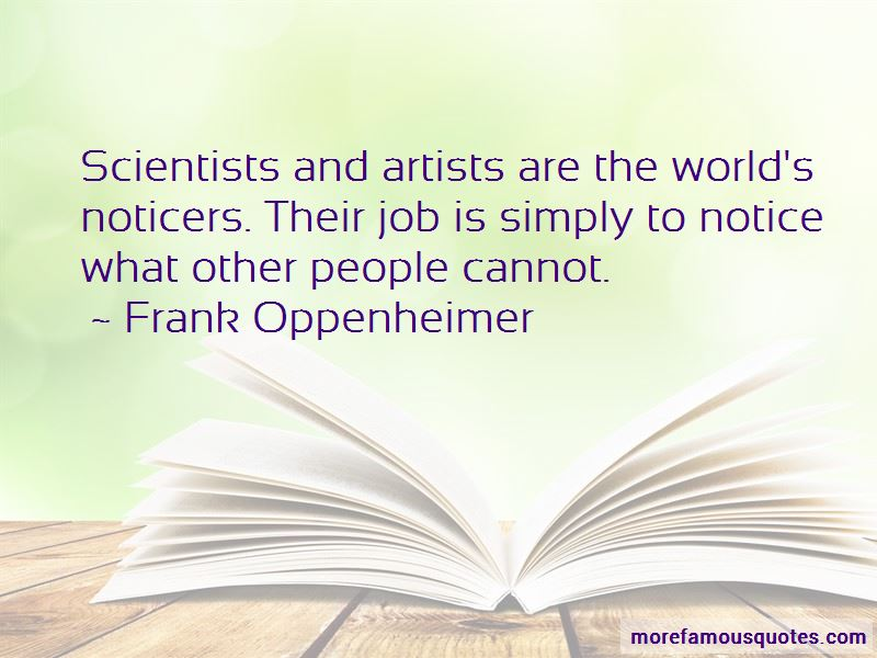 Frank Oppenheimer Quotes Pictures 2