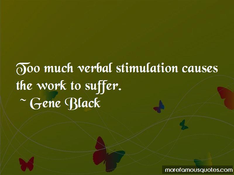 Gene Black Quotes