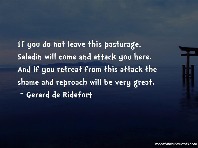 Gerard De Ridefort Quotes