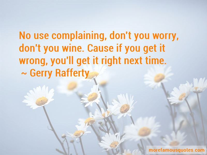 Gerry Rafferty Quotes Pictures 2