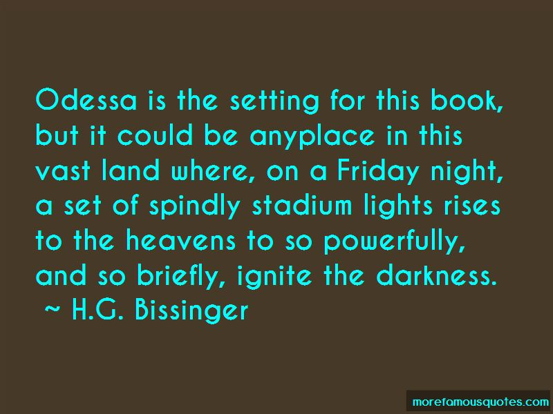 H.G. Bissinger Quotes Pictures 2