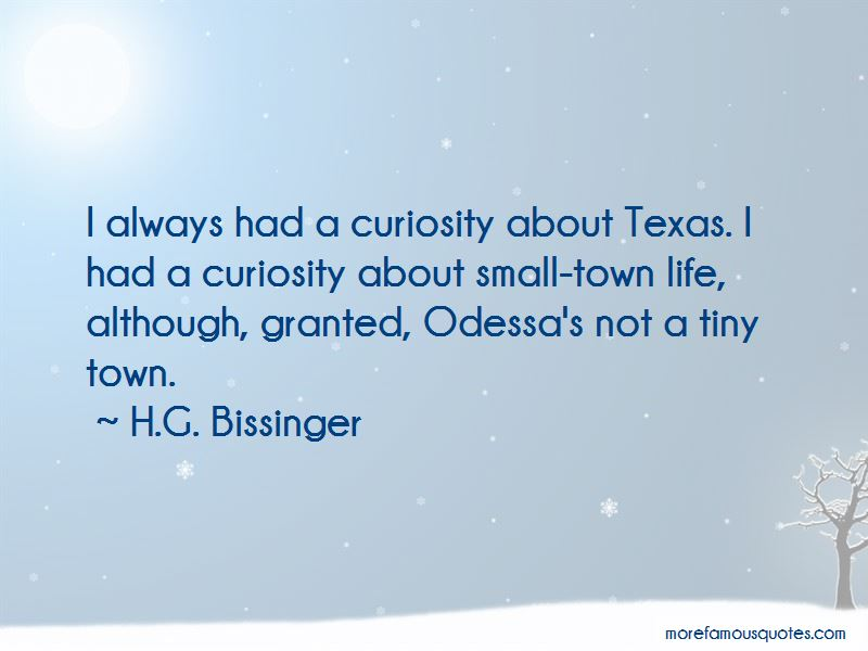 H.G. Bissinger Quotes Pictures 3