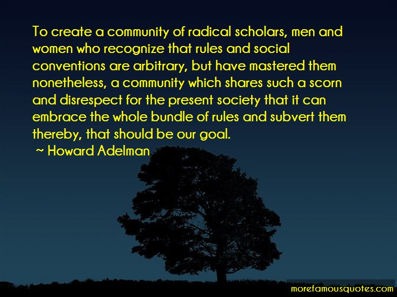 Howard Adelman Quotes