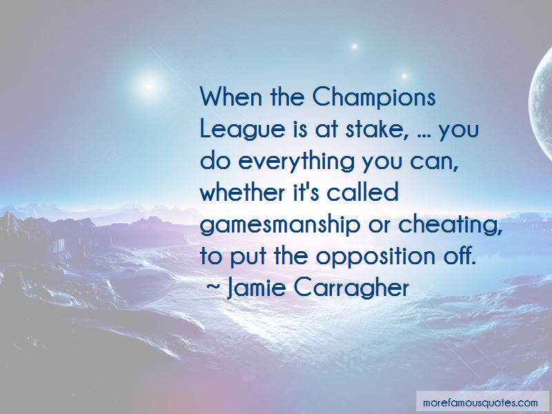 Jamie Carragher Quotes