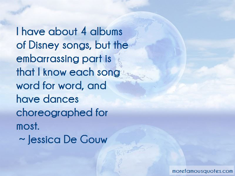 Jessica De Gouw Quotes